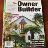 The Owner Builder magazine, featuring Unique Solutions