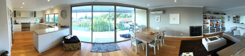 Open Plan Living with a view
