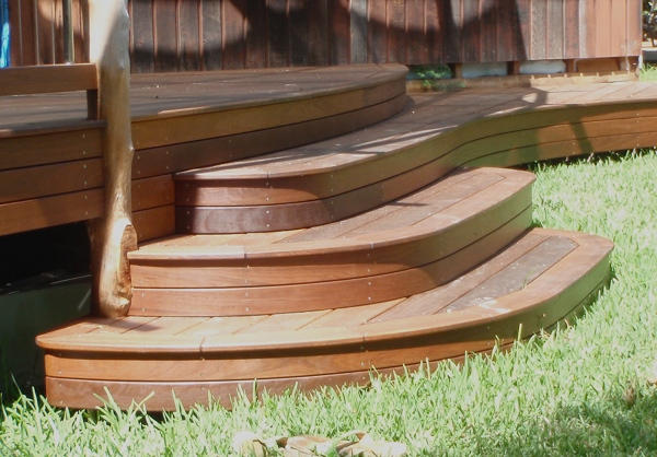 circle stair deck pictures to pin on pinterest